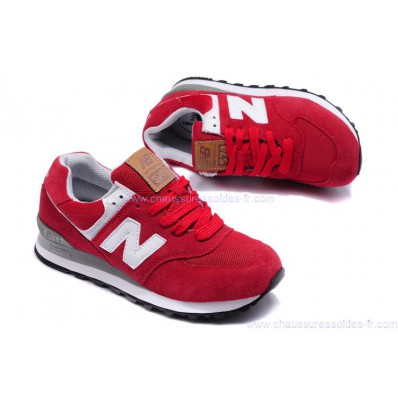 chaussure new balance femme rouge