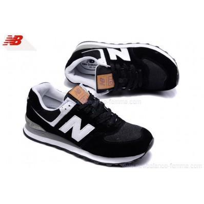 chaussures new balance 576 femme noir blanc