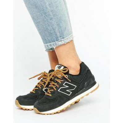 new balance 574 daim noir