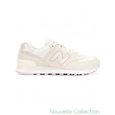 new balance 574 blanc femme