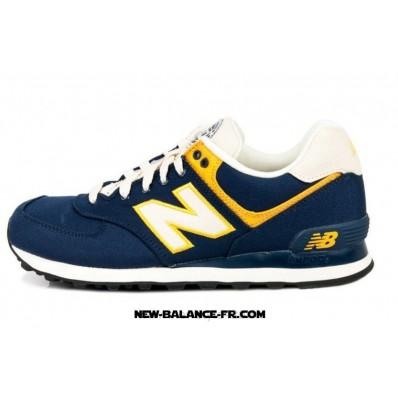 new balance 574 bleu et jaune