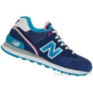 new balance 574 bleu marine et turquoise
