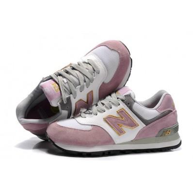 new balance 574 femme gris rose