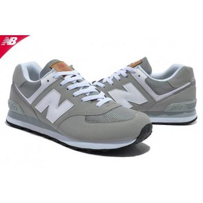 new balance 574 gris blanc