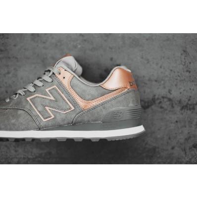 new balance 574 gris metal