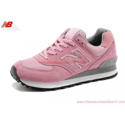 new balance 574 grise et rose gold