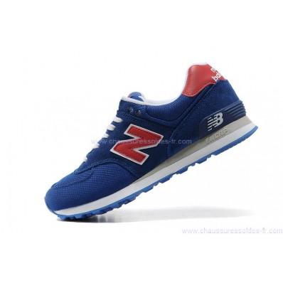 new balance 574 homme bleu rouge