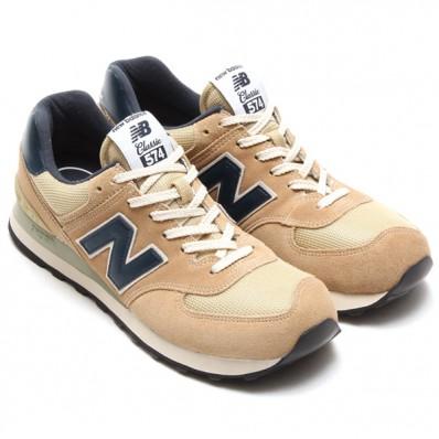 new balance 574 navy beige