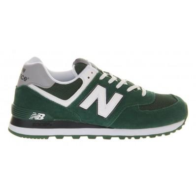 new balance 574 noir blanc vert