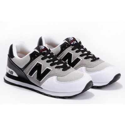 new balance 574 noir et blanc homme