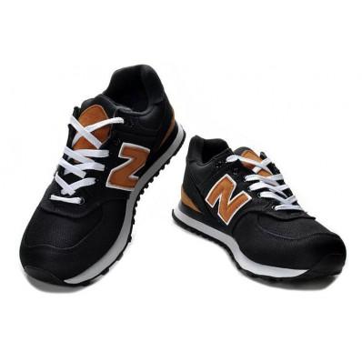 new balance 574 noir marron
