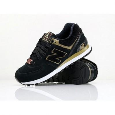 new balance 574 noir or