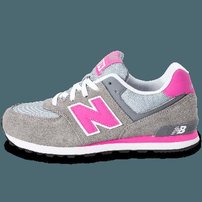 new balance 574 rose et grise