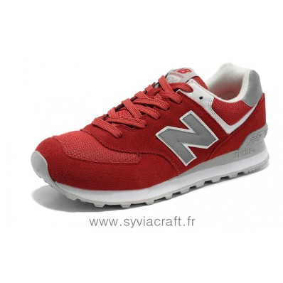 new balance 574 rouge et gris