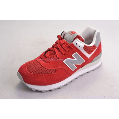 new balance 574 rouge et grise