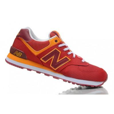 new balance 574 rouge et jaune