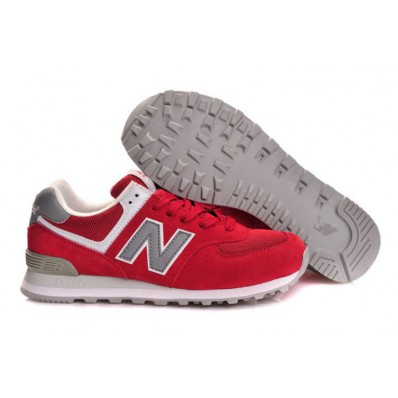 new balance 574 rouge gris