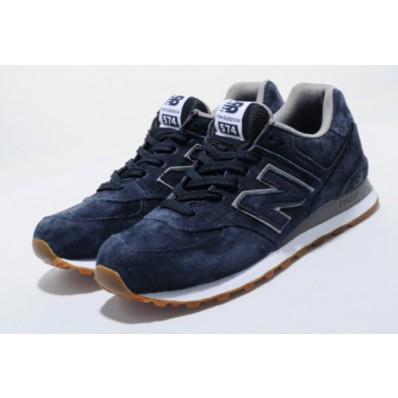 new balance 574 suede gris