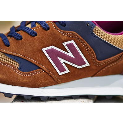 new balance 577 marron homme