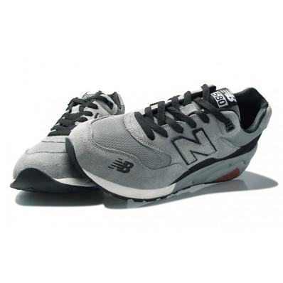 new balance 580 homme gris noir