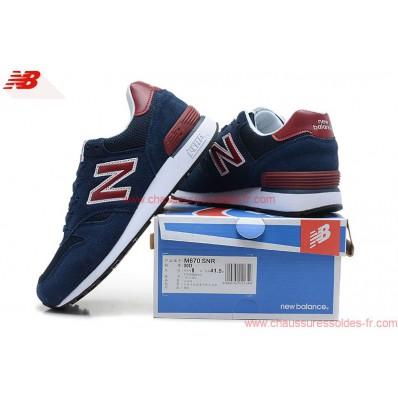 new balance 670 bleu marine rouge