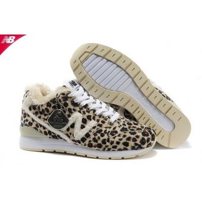 new balance 996 femme wool beige leopard