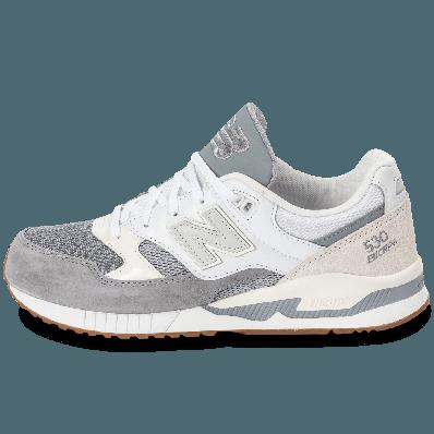 new balance blanc gris