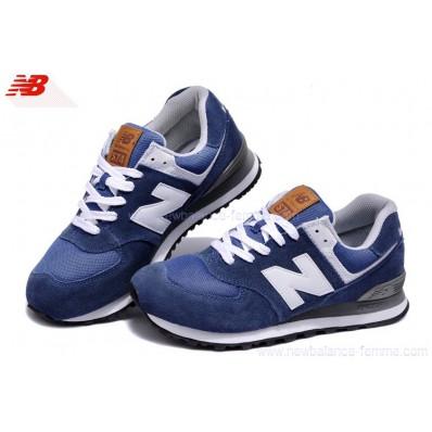 new balance bleu blanc
