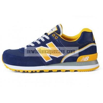 new balance bleu et jaune
