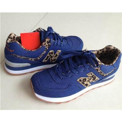 new balance bleu et leopard