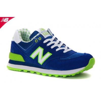 new balance bleu et vert