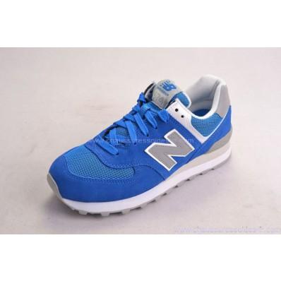 new balance bleu gris 574