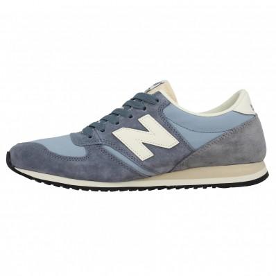 new balance bleu grise