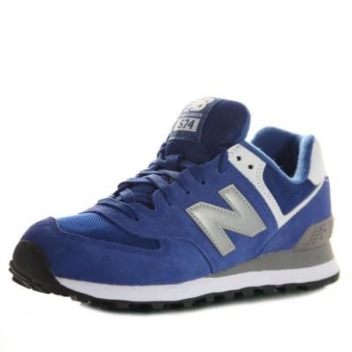 new balance bleu homme