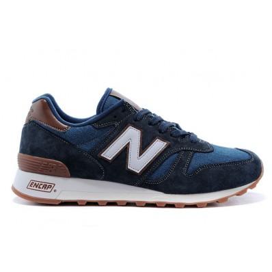 new balance bleu marine et brun
