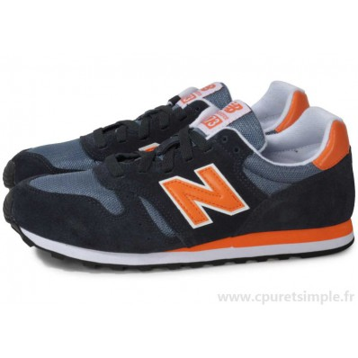new balance bleu marine et orange