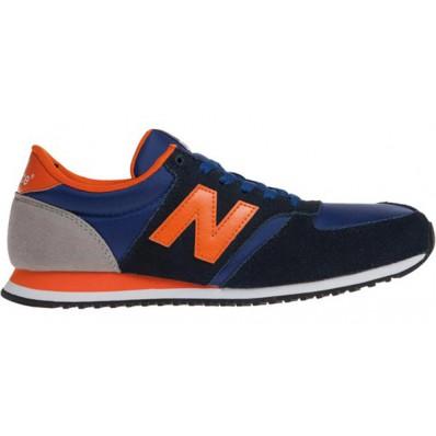 new balance bleu orange 420