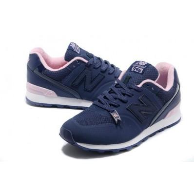 new balance bleu rose femme