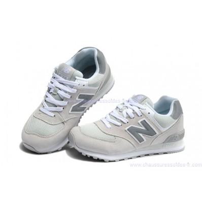 new balance gris blanc