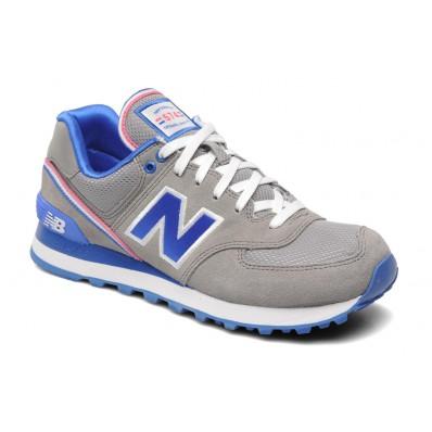 new balance gris bleu