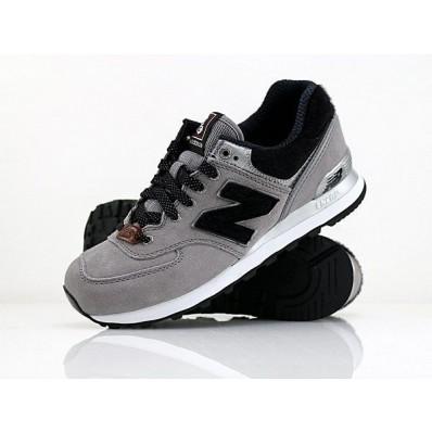 new balance gris noir