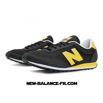 new balance gris noir jaune