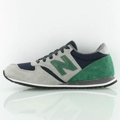 new balance gris vert