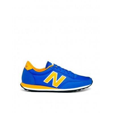 new balance grise bleu jaune