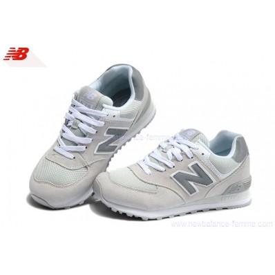 new balance grise et blanche