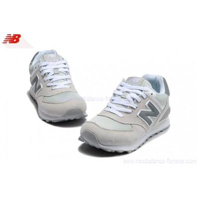 new balance grise et blanche pas cher