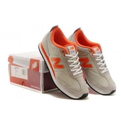 new balance grise et orange femme