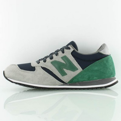 new balance grise et verte