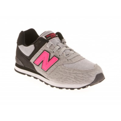 new balance grise fluo
