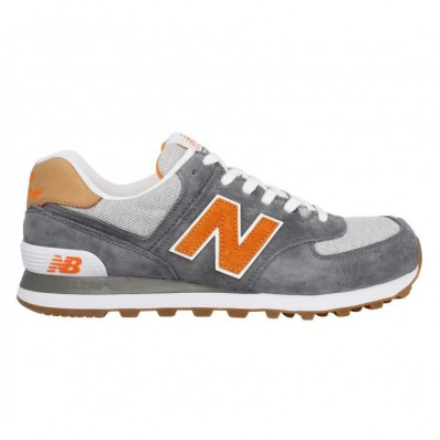 new balance grise orange